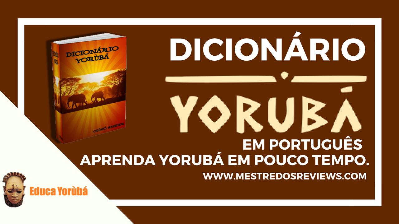 curso dicionário yorubá em português